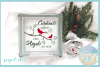 Cardinals Appear When Angels Are Near Christmas Quote example image 2