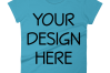 Anvil 880 Ladies Fit T-Shirt Mockups - 17 | PNG|3000x3000px example image 3