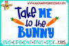 Take me to the Bunny SVG example image 4