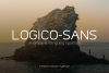 Logico-Sans Simple Modern Font example image 1