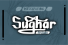 Sughar BRUSH Font example image 1