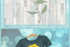 Blessed To Be Called Grandma Quote with Sunflower SVG example image 4
