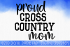 Cross Country Mom SVG, Sports SVG example image 1