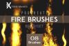 Procreate Fire Brushes! example image 1