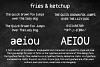 Fries & Ketchup Hand Drawn Font example image 2