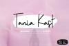 Tania Kast Modern Script example image 1