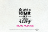 Do What is Right Not What is Easy / svg, eps, png file example image 2