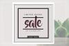 GRUNGE Social media sale banner pack example image 4