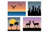 Textured Gradient Skies example image 2