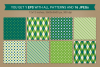 St. Patrick's Day Seamless Patterns - Set 1 example image 3