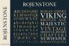 Rojenstone Font example image 2