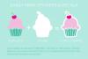 I Heart Cupcakes Dingbat Font example image 3