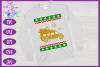 Christmas SVG - Ugly Sweater Party Shirt Design example image 2