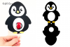 lollipop holder designs. Lamb, Rabbit, Duck and Penguin example image 6