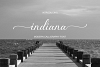 indiana Script Font example image 1