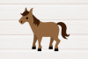 Horse with Saddle SVG Design example image 2