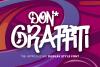 Don Graffiti Urban Style Font example image 1