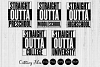 Straight outta school  SVG Cutting files   Commercial use   example image 1