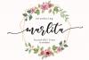 marlita -beautiful font- example image 1