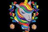 9 Unicorn Machine Embroidery Designs example image 9