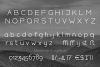 HARBINGER, sans serif font example image 3