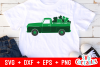 St. Patrick's Day Truck Cut File example image 1