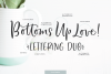 Bottoms Up Love Font Duo & Extras example image 11