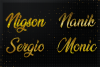 12 Gold Clean Text Effect Styles example image 2