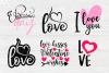 Valentines SVG Bundle | Valentines Signs | SVG Cut Files example image 4