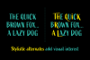 Active Font Family example image 7