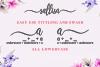 Sallisa - beautiful script font example image 4