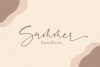 Sinthya - Casual Script Font example image 2