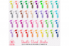 40 Colorful Cocktails Drinks Clipart PNG Transparent Background Personal & Commercial Use example image 1