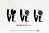 Love knitting and crochet set / svg, eps, png file example image 1