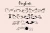 Unicorn Island Font and Dingbats example image 3
