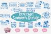 SUPER SALE! Beachin' Summer Bundle - A Summer SVG Bundle example image 1