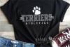 Terrier, Athletics, Sport, Team, Logo, PRINT, CUT, DESIGN example image 1