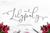 Lilypaly Typeface example image 1