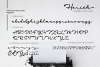 Harith Script Font example image 2