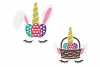 Unicorn Easter Bunny SVG in SVG, DXF, EPS, PNG, JPG example image 4