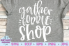 Gather Gobble Shop SVG |Black Friday SVG example image 1