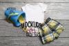 Baby bodysuit - Dollar Store pail & shovel MOCK-UP example image 1