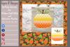 Pumpkin/ Monogram Pumpkin Frame Design File example image 4