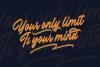 Outlander Brush Script example image 8