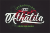 The Athalita / Cool brush stylist Font design example image 16