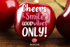 Cherry Bubble font example image 3