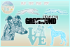 Greyhound Mandala Zentangle Bundle SVG Eps Png PDF example image 1