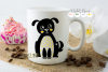 Cat and Dog SVG / EPS / DXF / PNG Files example image 3