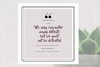 GRUNGE Social Media Quote Banners example image 9