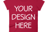 Anvil 880 Ladies Fit T-Shirt Mockups - 17 | PNG|3000x3000px example image 13